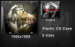 Plastic CD Case - 2 sizes by ruky1024