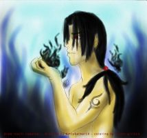 Draw ITACHI together by Itachi-girl214