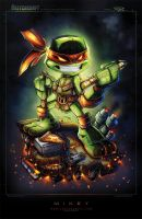 TMNT Mini Mikey Final by RobDuenas