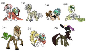 Pony Collab Adopts - OPEN by Ad-opt