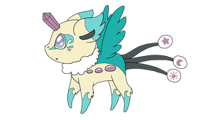 FAKEMON Lullafly - The Peacekeeper Pokemon by PancakeShiners