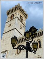 ARCEVIA (AN) - THE TOWN HALL TOWER by MarcoLorenzetti