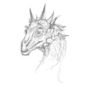 Dragon Sketch by Grwobert