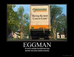 Eggman Demotivational Poster by gurrenlagann29