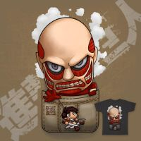 Pocket Shingeki No Kyojin by Wenart