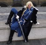 Olivier Mira Armstrong by GreenBadger