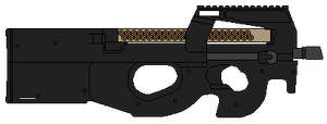 FN P90 by DaltTT