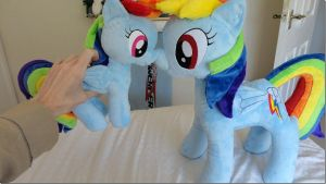 Big Dashie Little Dashie by PlushieScraleos