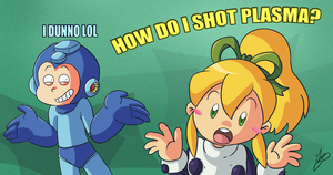 HOW DO I SHOT PLASMA by Ian-the-Hedgehog