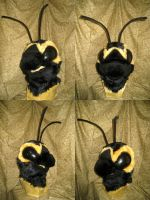 Bee Head by temperance