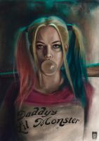 Harley Quinn - Suicide Squad by Russtiel