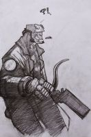 hellboy by ozguryildirim