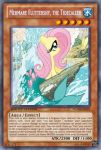 Mermare Fluttershy (MLP): Yu-Gi-Oh! Card by PopPixieRex