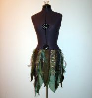Green Faerie Wrap Skirt by Reine-Haru