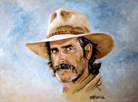 Sam Elliott by Edwrd984