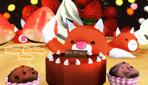 ~Happy Birthday Foxxy~ by KingdomHeartsNickey