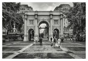Marble Arch by Pajunen