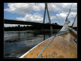 DZ sailboats on Vistula River by fiamen
