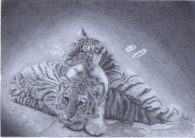 tiger pleasure by Calitha-Lena