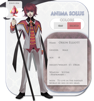 Anima Solus: Orion Elliott by Dragons-Roar