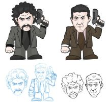 Bank Bang movie-characters by antonist