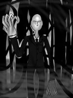 Hey Slenderman by FuryX-4