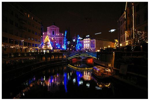 christmas ljubljana by mourningair