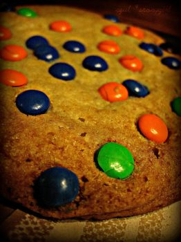 M+M cookie by snoopgirl