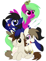 Dew Drop And Friends by Centchi