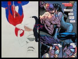 The gallery for --> Ultimate Spiderman White Tiger Kiss