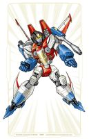 Starscream re-design by Mecha-Zone
