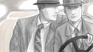You Smell Good -L.A. Noire- by brucestache