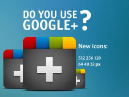 Google+ icons by neweravin