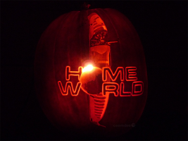 Homeworld Pumpkin by ceemdee