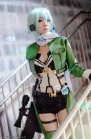Sword Art Online II Sinon cosplay by yukigodbless