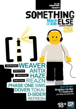 Something else Flyer 1 by reinvent1
