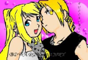 edward y winry by puccanekopink