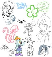Doodle Spam by tonifasic