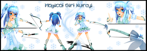 . : MOTME: Magical Girl Kuroji : . by Majikaru-Rin