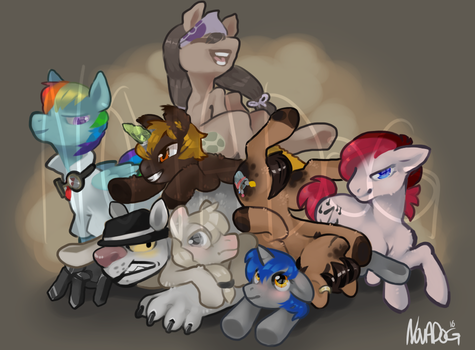 Group Commission by Novadog