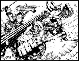 Jimbo Salgado World War Hulk by GothPunkDaddy