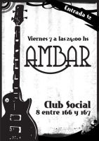 Ambar Band Poster by arwenita