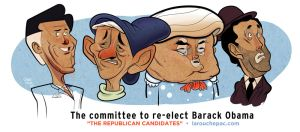 The Committee to re-elect Barack Obama by thesmokeking