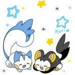 emonga and pachirisu again by kori7hatsumine