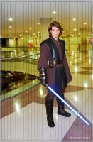 Anakin in the Temple by Akaius