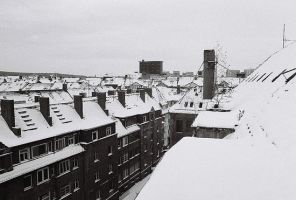 Erfurt im Winter by kearone