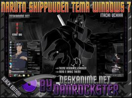 Itachi Uchiha Theme Windows 7 by Danrockster