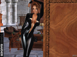 Tomb Raider: Hmmm...what is he looking for? Pt.1 by LaraLuvsMe