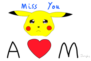 I Miss You Pikachupi by jemzyboz