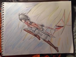 Attack on titans drawing by CosplayQueendom